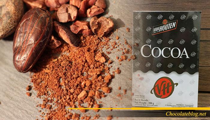 Coklat bubuk jenis Van Houten