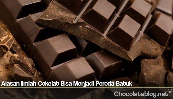 Alasan Ilmiah Cokelat Bisa Menjadi Pereda Batuk