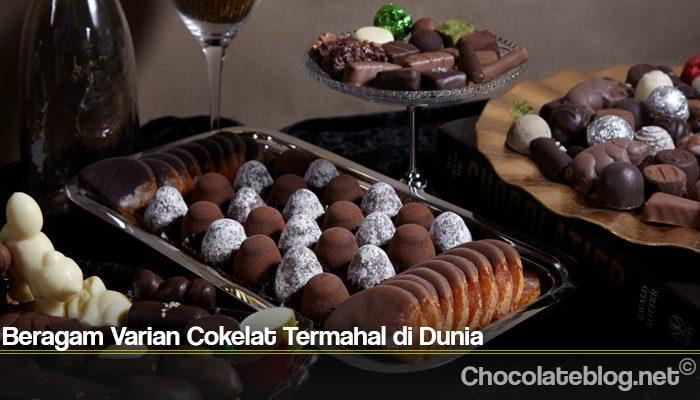 Beragam Varian Cokelat Termahal di Dunia