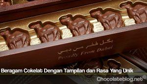 Beragam Cokelat Dengan Tampilan dan Rasa Yang Unik