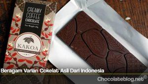 Beragam Varian Cokelat Asli Dari Indonesia