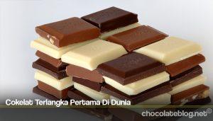 Cokelat Terlangka Pertama Di Dunia