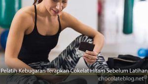 Pelatih Kebugaran Terapkan Cokelat Hitam Sebelum Latihan