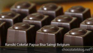 Ransiki Cokelat Papua Bisa Saingi Belgium